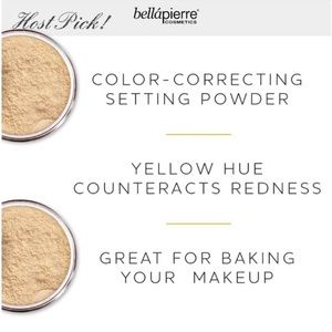 Brand New Bellapierre Banana Setting Powder